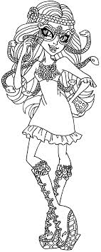 A Coloring Page Of Viperine From