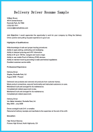 Resume For Truck Driver Owens Objective Examples With No Experience