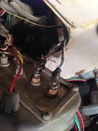 where does the red solenoid power wire connect to using ez here s a pic my instrument cluster is pretty much worthless as far as i can tell too so i hope that doesn t effect the whole circuit