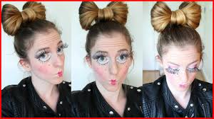 doll hairstyles 14918 doll hairstyle and makeup tutorial