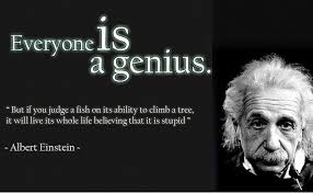 Amazoncom 12 X 18 Xl Poster Albert Einstein Quote Everyone Is A