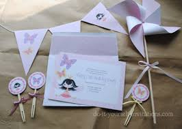 Homemade Printable Birthday Invitations Download Them Or Print