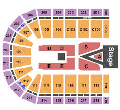 Sears Centre All In Seating Chart Sears Centre Arena Tickets In Hoffman Estates Illinois