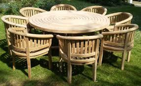 sustainable teak garden furniture