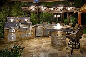 Outdoor Kitchen Furniture Outdoor Kitchen Island Designs For Perfect Exterior Furniture