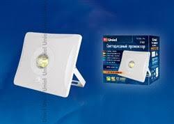 <b>ULF</b>-<b>F31</b>-<b>10W</b>/<b>DW</b> SENSOR IP65 100-265В WHITE картон <b>Uniel</b> ...