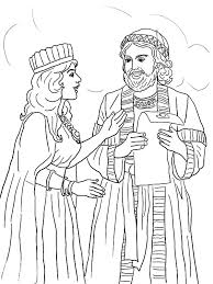 Small Picture Queen Esther and Mordecai with Kings Edict Coloring Pages Queen
