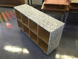 contact paper for furniture. cover your classroom furniture with contact paper for