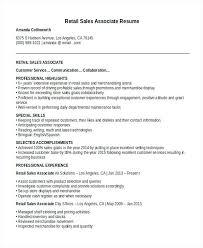 sample sales associate resumes resume sample retail sales associate nice ideas sample retail