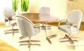 dining table wheels dining table chairs with wheels stunning kitchen table and chairs with wheels marvelous dining table wheels