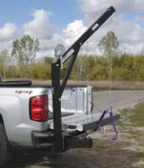 Vestil - Hitch-Mounted Truck Jib Crane