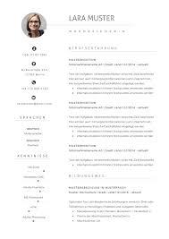 Premium Bewerbungsmuster 10 Lebenslaufdesigns De