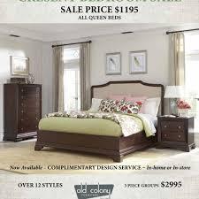 Crescent Bedroom Sale