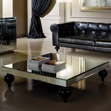 mirrored coffee table. Designer Square Mirrored Coffee Table T