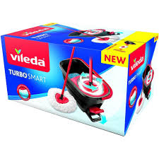 Купить <b>набор для уборки Vileda</b> Турбо Смарт швабра + ведро с ...