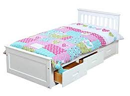 Unisex Cabin Bed with Fully Extendable Underbed Storage - Single ...