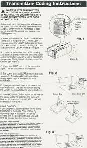 how to reset garage doorStanley Gate Opener Wiring Diagram Garage Door Sensor Wiring