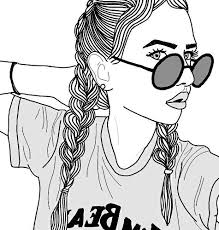 Cool Girl Drawings Free Download Best Cool Girl Drawings On