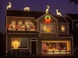 outdoor lighting decorations. Image Of: Outdoor Lighted Christmas Decorations Presents Lighting T