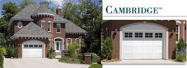9 x 7 garage doorCambridge  Garage Doors  Crosby Garage Door Co