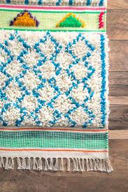 berkinamr01 hand tufted wool raised diamond trellis rug