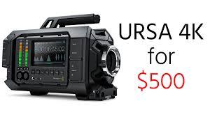 Blackmagic Design Ursa 4k V2 Updated Deal Alert Blackmagic Ursa 4k For Just 500 When