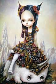 yosuke ueno the surreal whimsical yet beautiful paintings of children in the fantasy world