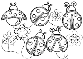 Small Picture Happy Bug Coloring Pages 100 96