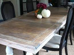 refinishing a coffee table shine your