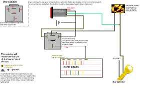 wiring diagram for push button starter switch the wiring diagram push button start made easy team integra forums team integra wiring diagram