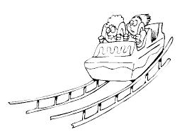 Kleurplaat Pretpark Animaatjesnl