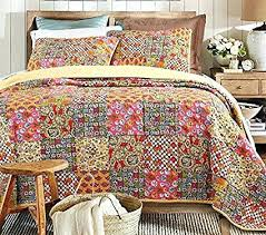 Circo Twin Quilt And Sham Set Josephine Quilt And Sham Set King ... & Circo Twin Quilt And Sham Set Josephine Quilt And Sham Set King Quilt And  Sham Set Beddingleer Extreme King Size Luxury 100 Cotton Bright Patchwork  Quilted ... Adamdwight.com