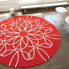 red and white rug homey rugs sensational design area with regard to decor 19
