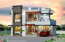 Small Picture 25 lakhs cost estimated Kerala home House Elevation Indian