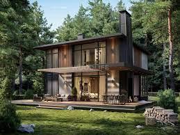 Woodlife Ülkü 145 m2 (Akıllı Ev Teknolojisi) – Woodlife Ahşap Ev, Bungalov  Ev, Kütük Ev ve Taş Ev Çözümleri