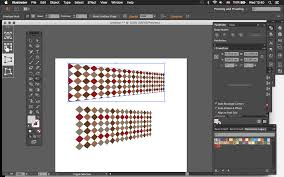 Illustrator Pattern Fill Interesting How Can I Transform Patterns In Illustrator To Simulate A