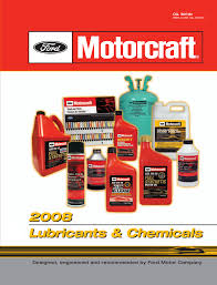Motor Craft Ford Oils