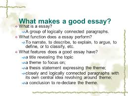 composing essays i what makes a good essay iuml para what is an essay what makes a good essay iuml129para what is a essay iuml130155 a group of