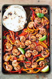 sheet pan shrimp fajitas sheet pan shrimp fajitas
