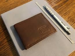 buffalo billfold mens leather bifold wallet