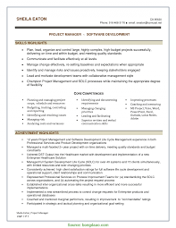 Project Controls Resume Examples Project Controls Resume Examples Examples o RS Geer Books 4