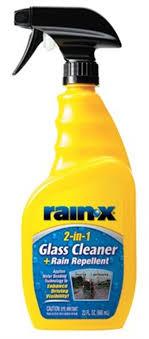 rain x 2 in 1 glass cleaner rain repellant 23 fl oz 5071268w com