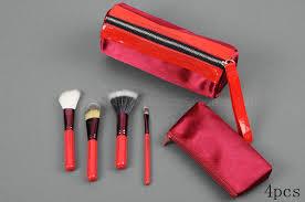 4 pcs mac brush set red brush holder stud mac por ping