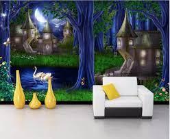 Custom photo 3d wallpaper mural Forest ...