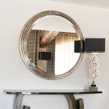 exclusive large round wall mirror