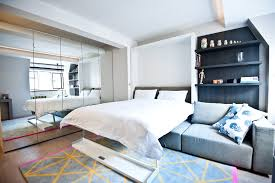 studio living furniture. Splashy Full Size Captains Bed In Bedroom Contemporary With Brown Living Room Furniture Next To How Studio