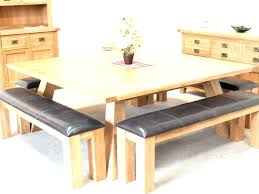 swingeing wood dining set with bench long table plans round wooden and folding combo