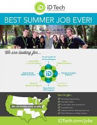 summer job opportunities for stem students center for career recruitmentflyeridtech