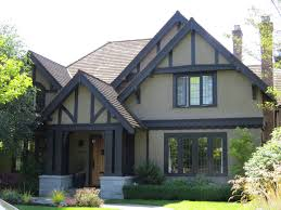 House With Black Trim Tudor Rules How To Paint Your Tudor Revival Home Painting