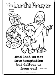 Image Result For The Lords Prayer Coloring Pages Printable Sunday